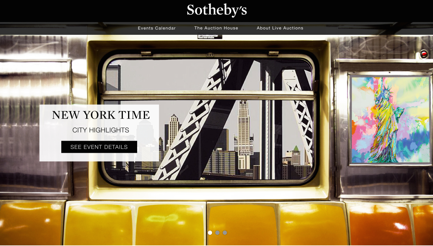 Ebay And Sotheby S Finally Launch Their Live Auction Site Venturebeat