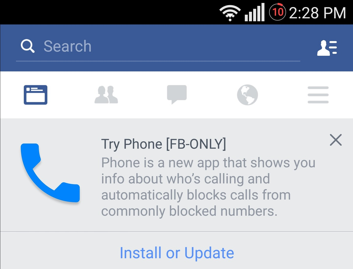 Facebook Is Testing An Android Dialer With Caller Id And