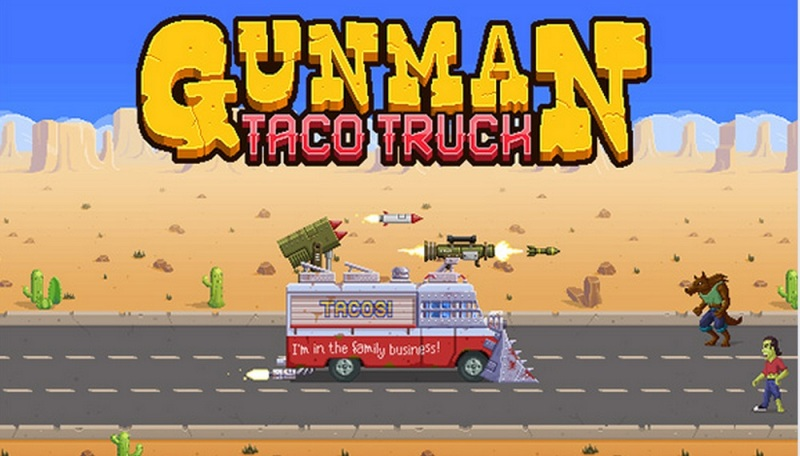 Gunman Taco Truck was designed by 10-year-old Donovan Brathwaite-Romero.