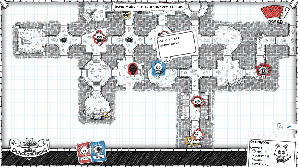 Guild of Dungeoneering Map