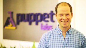 Puppet Labs founder and chief executive Luke Kanies