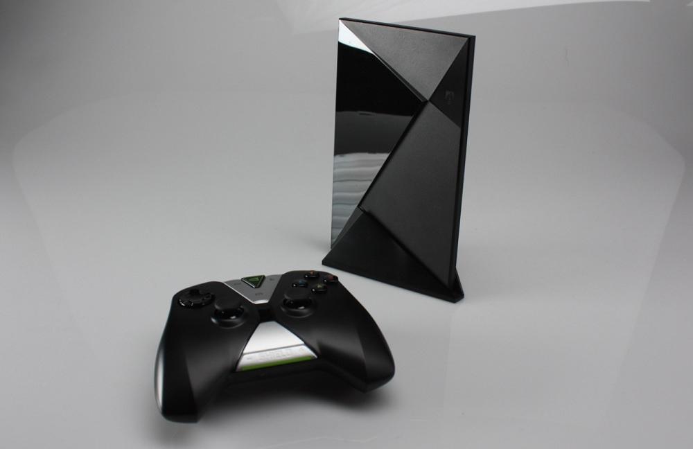 colette kress. nvidia shield set-top box and controller. colette kress