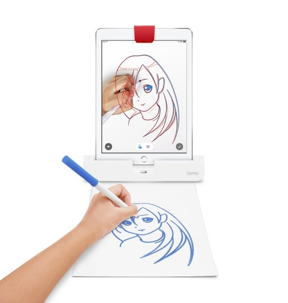 Osmo Masterpiece lets you trace what you see on the screen.