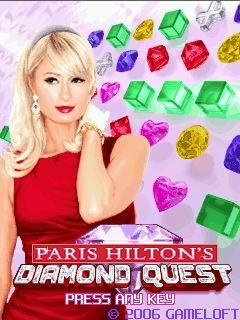 Paris Hilton's 2006 game, Paris Hilton's Diamond Quest from Gameloft.