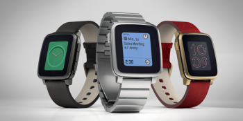 Pebble Time firmware update brings brighter backlight, milder haptic buzz, new controls