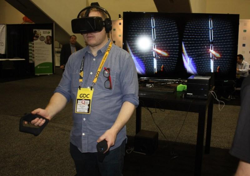 Sixense VR controller
