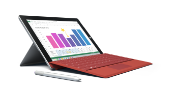 Watch this: Microsoft's Surface 3 thinks it can charge itself