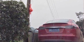 Charging a Tesla in China: One owner's creative, dangerous hookup