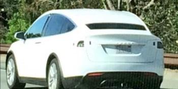 Tesla Model X captured in road tests on California highway (photos, video)