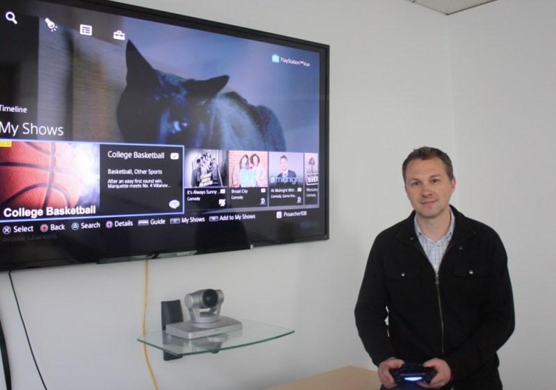 PlayStation Vue demo
