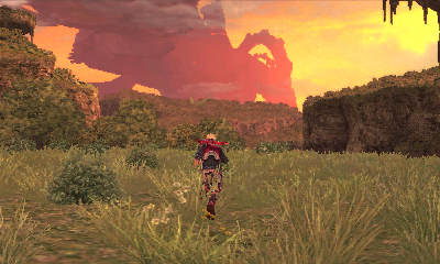The world of Xenoblade Chronicles is uniquely beautiful.