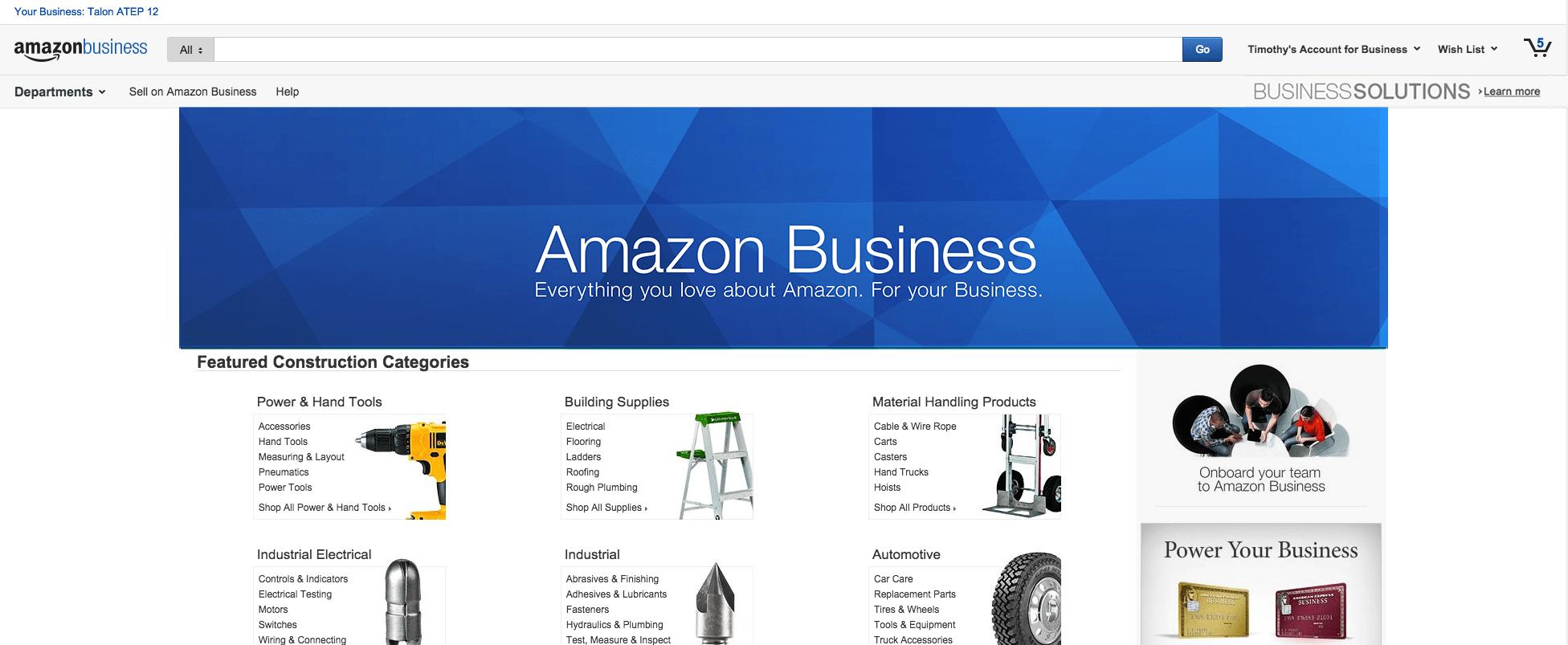 Amazon launches Amazon Business, sunsets AmazonSupply | VentureBeat