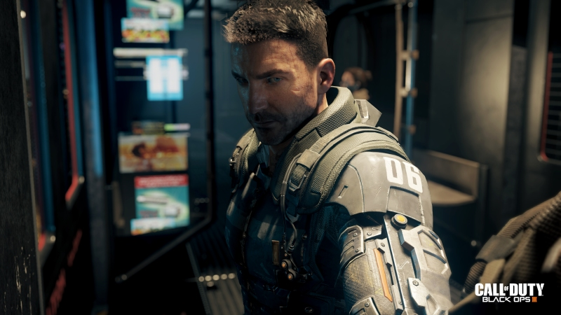 A character named Hendricks in Call of Duty: Black Ops III