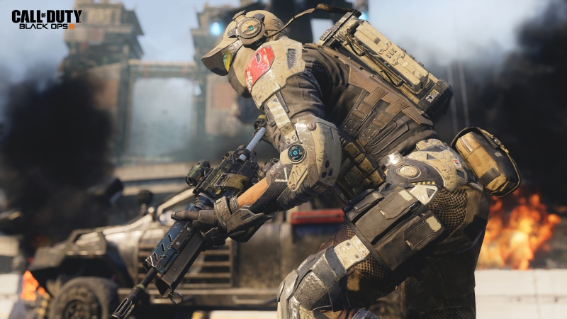 Activision's Call of Duty: Black Ops III.