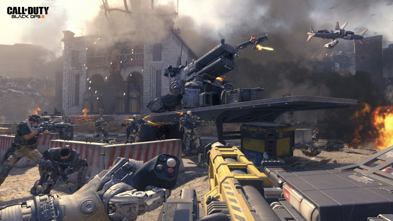 Street battle in Call of Duty: Black Ops III