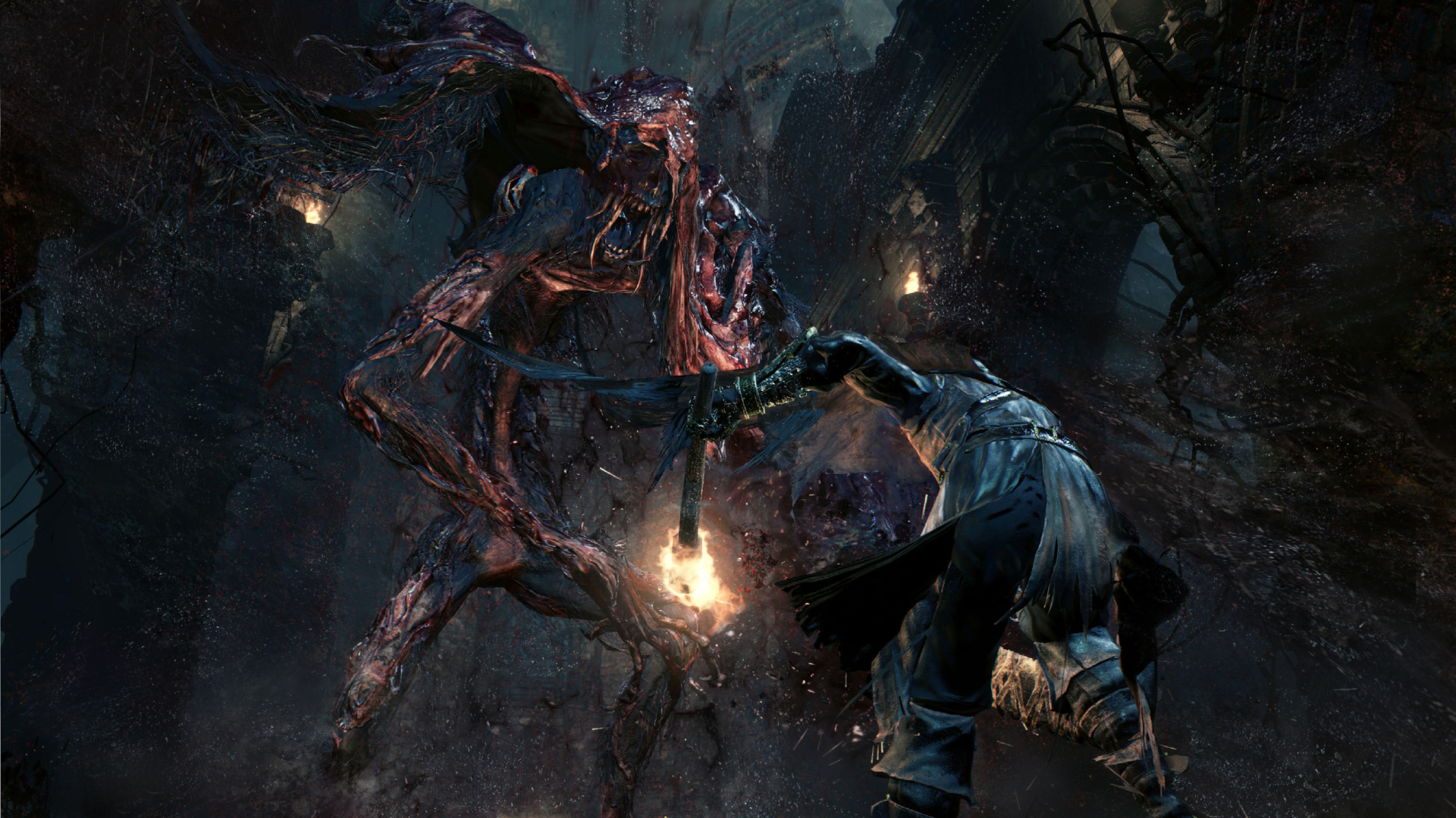 The blood starved beast is a creature that would thrive in Silent Hill just as much as it does in Yharnam.