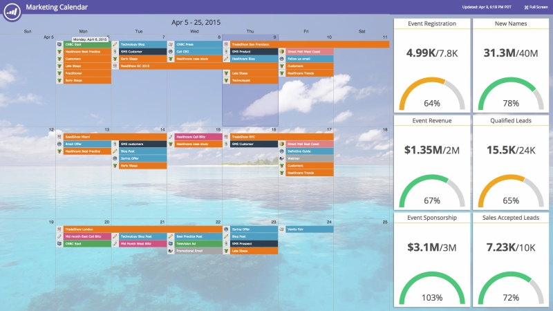 Marketo is also releasing a new marketing calendar product