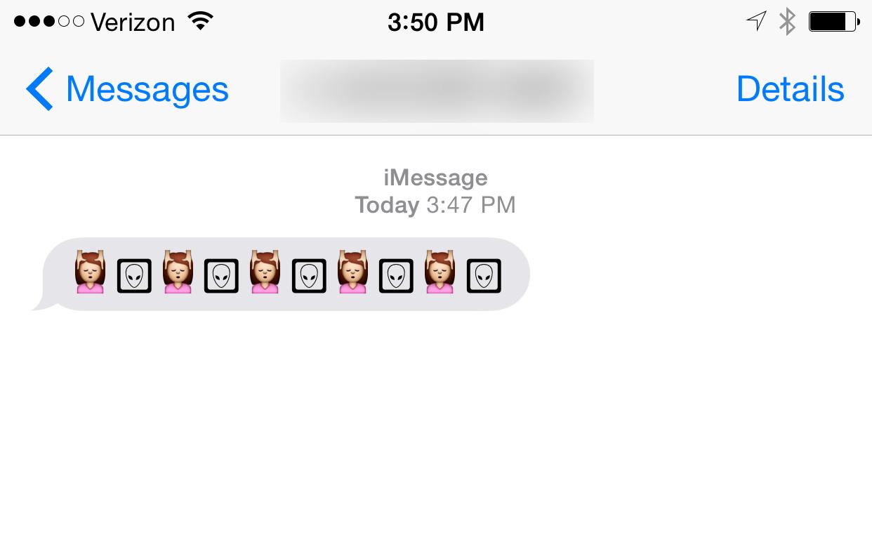Alien face in box emoji meanings - Apple S New Emojis Turn Into Aliens When Sent To Earlier Versions Of Ios Venturebeat