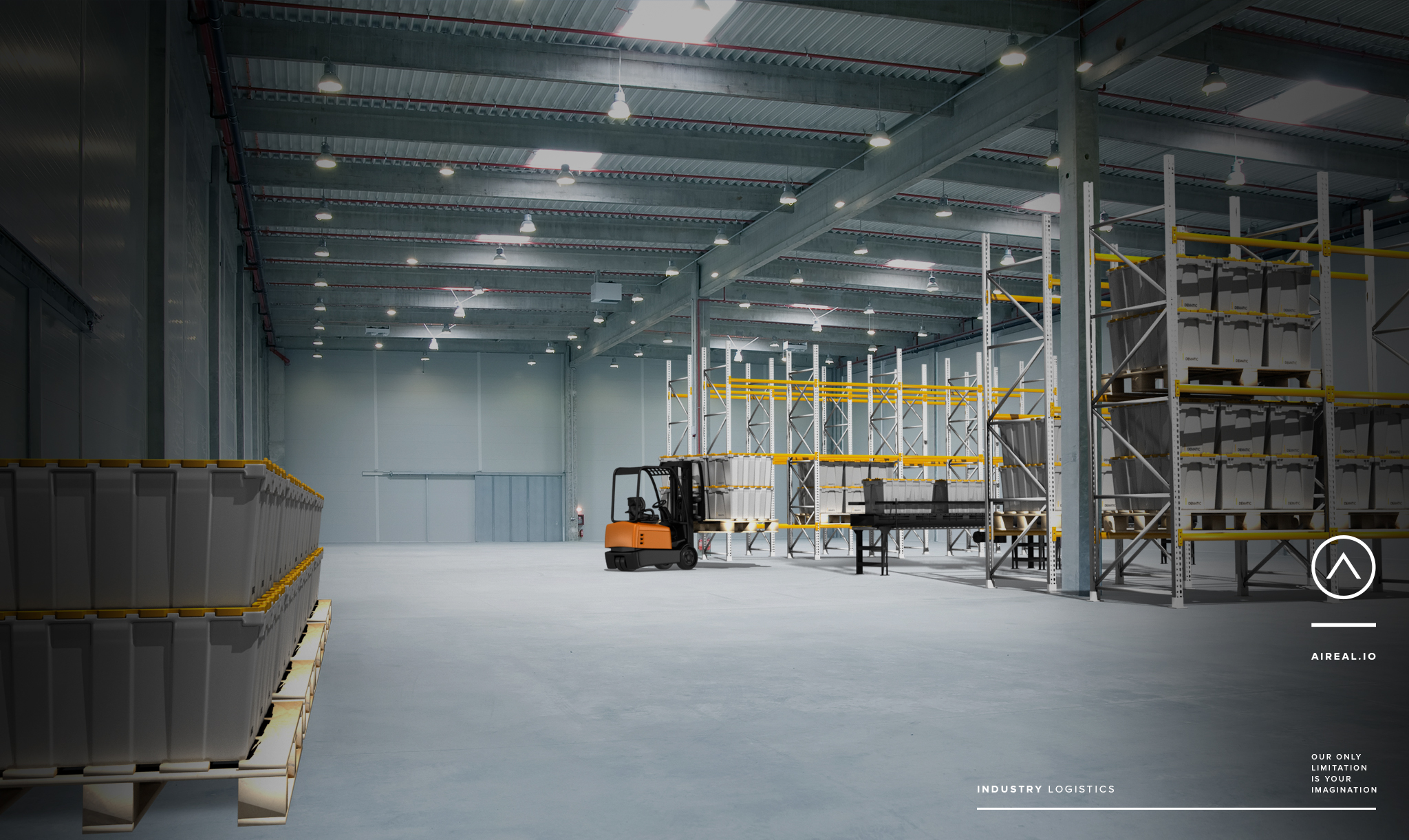 Companies could use the technology to envision a warehouse before it is built-out.