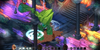 This role-playing game mixes Diablo in the bright colors of The Banner Saga