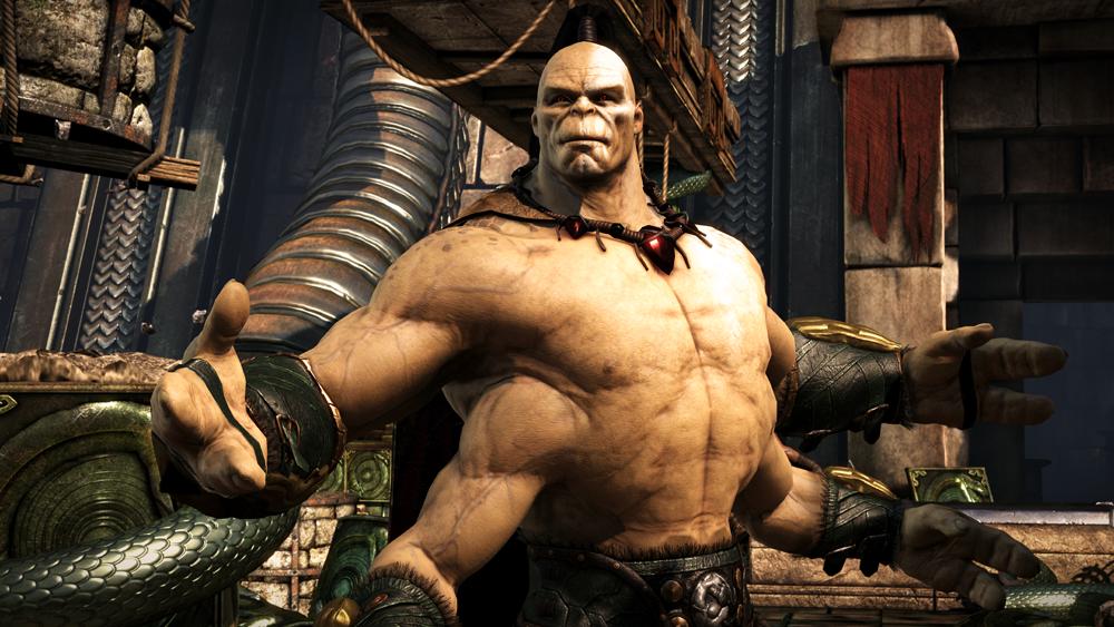 Mortal Kombat X Goro Hero