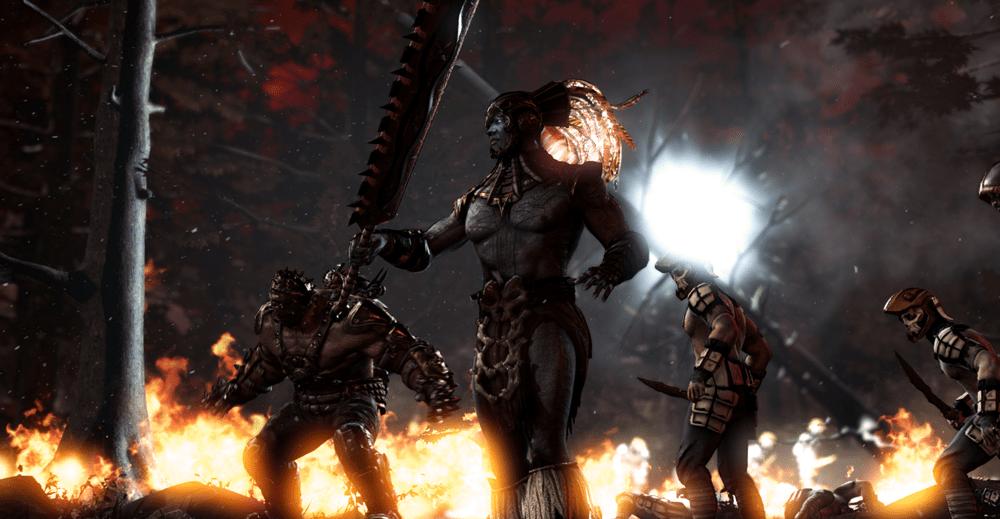 Mortal Kombat X Kotal Ambushed