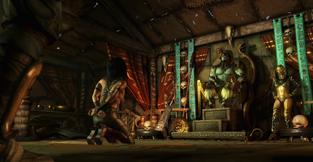 Mortal Kombat X Mileena Captured