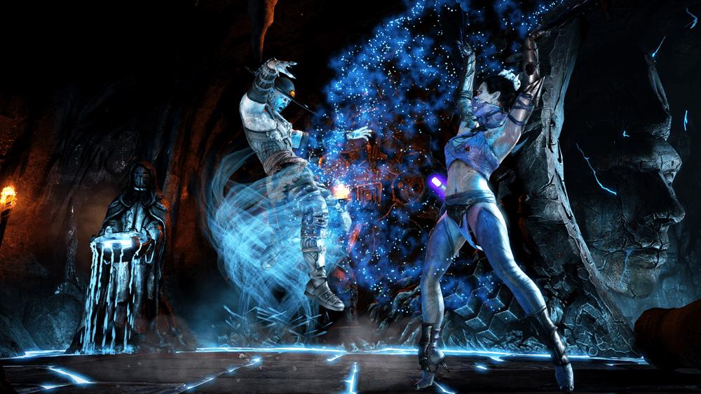 Mortal Kombat X Rev Kitana vs. Rev KL