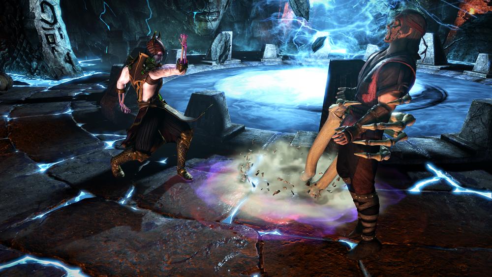 Mortal Kombat X Shinnok vs. K