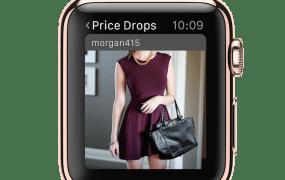 Poshmark's new app for Apple Watch