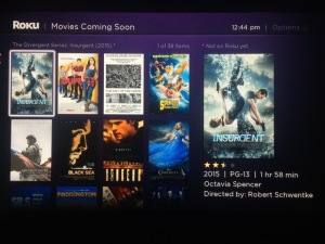 With Roku's new My Feed feature you pick from a published list of theatrical releases that you want to follow as they become available on digital services like Netflix. Photo by Simon  Cohen.