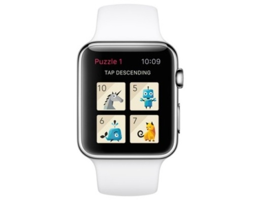 The Apple Watch version of Rules! will feature only four tiles.