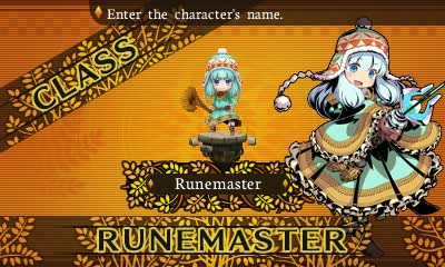 Every class of Etrian Mystery Dungeon is cute. Even some of the bad guys are cute.