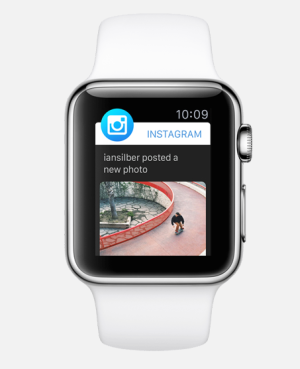 The Instagram app for Apple Watch