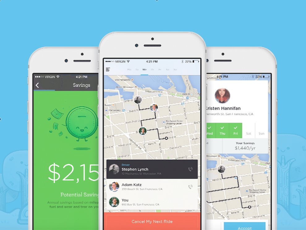 Carpooling Startup Ride Launches With Help From Uber S