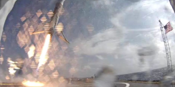 SpaceX's Falcon 9 doesn't survive landing … again