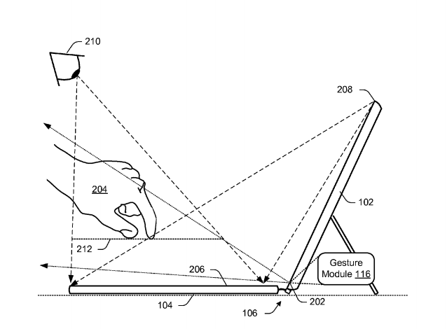 Microsoft patent describes use of floating holograms to