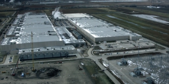 Go up, over, and inside Google's huge Iowa data centers in this new video