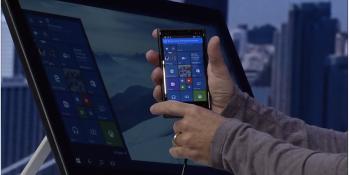 Microsoft announces Continuum for phones in Windows 10