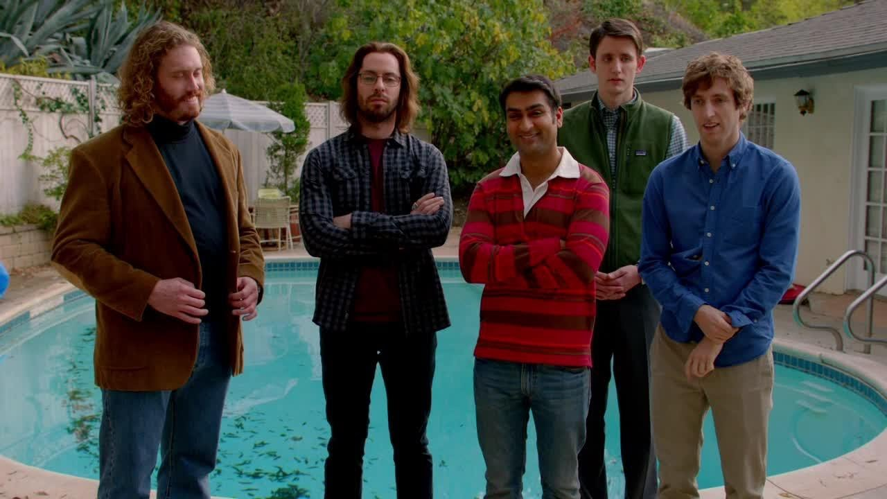 """The cast of HBO's """"Silicon Valley."""""""