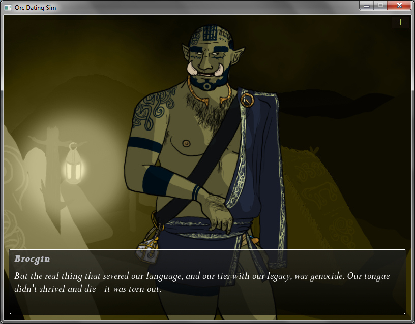 Tusks: The Orc Dating Sim - Brocgin