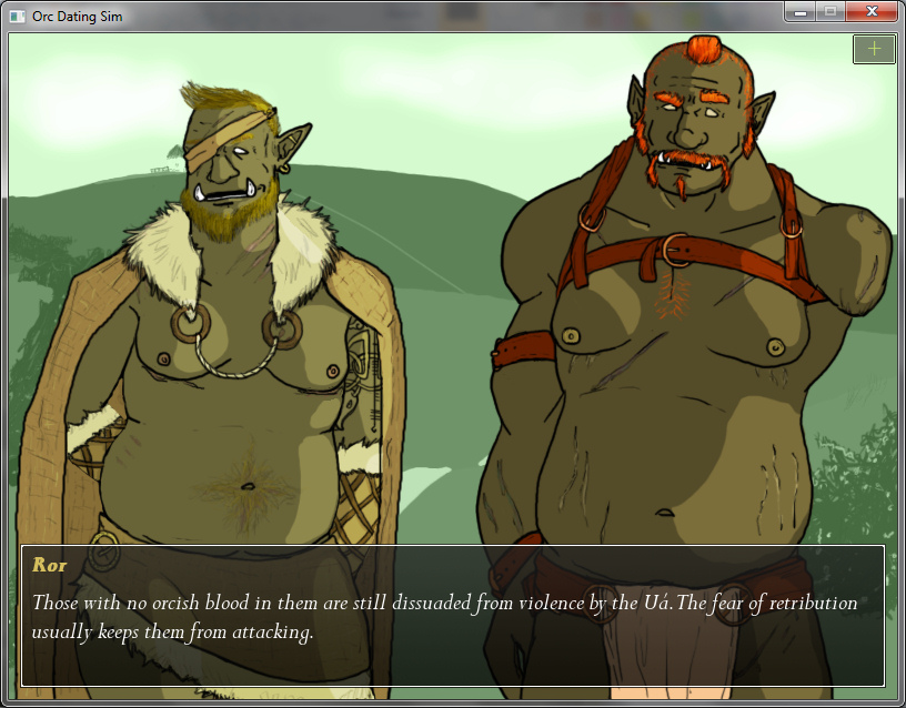 Tusks: The Orc Dating Sim - Ror