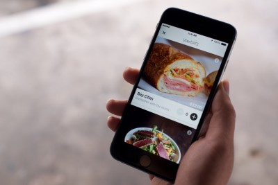 can you pay for uber eats with cash