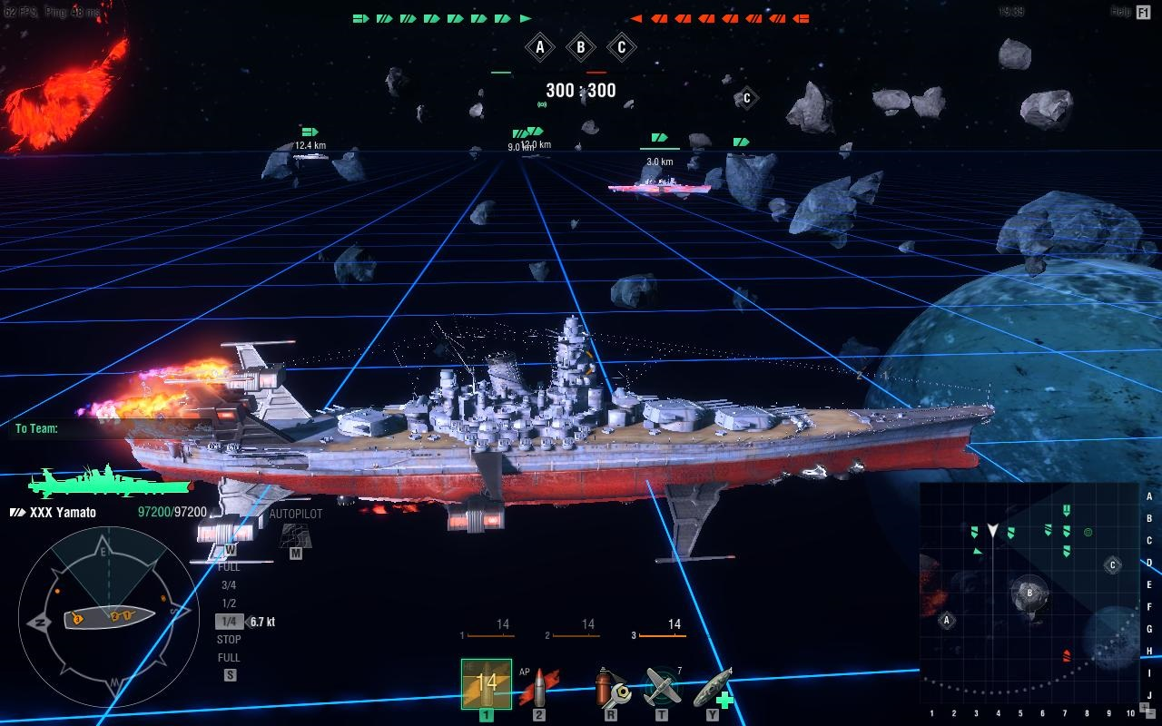 Space Battleship Yamato' invades World of Warships | VentureBeat