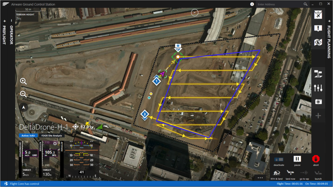Airware launches end to end hardware software and cloud for Construction site plan software