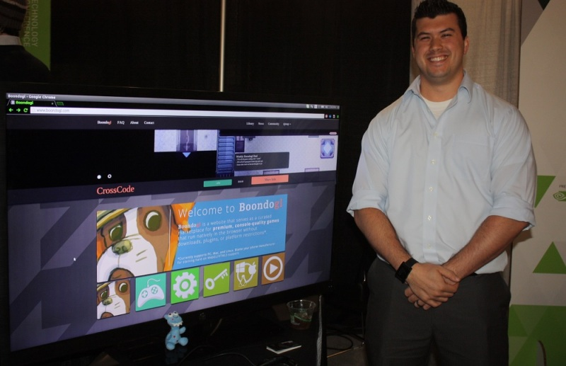 Anthony Palma, CEO of Kermdinger Studios and co-creator of Boondogl.