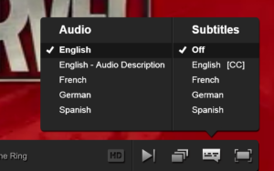 Netflix Audio Description