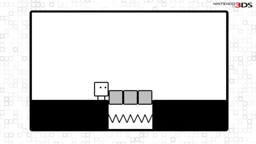BoxBoy! isn't too challenging, but still manages to evoke that thrill of finding a solution.