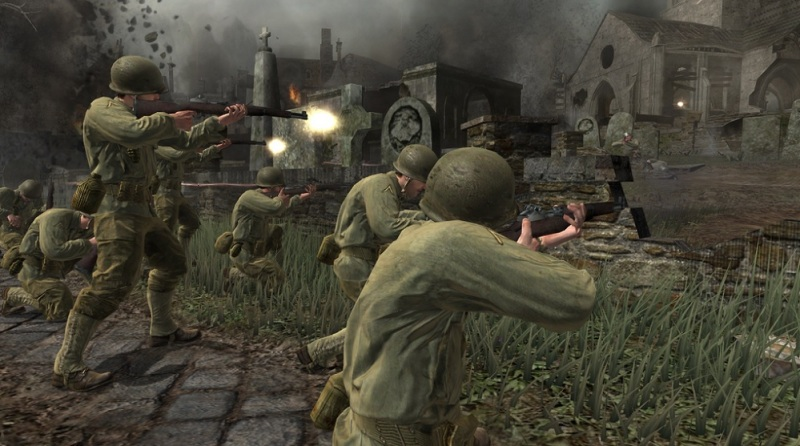 Call of Duty 3 debuted in 2008.