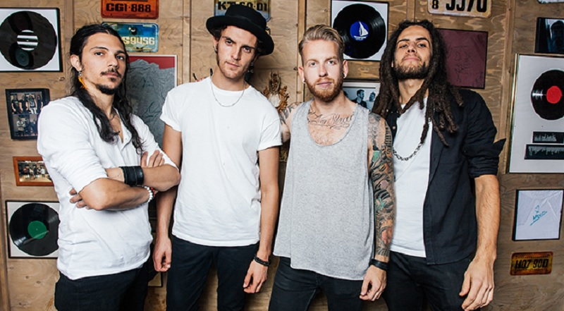 Guitar Hero's fictional band: Broken Tide.